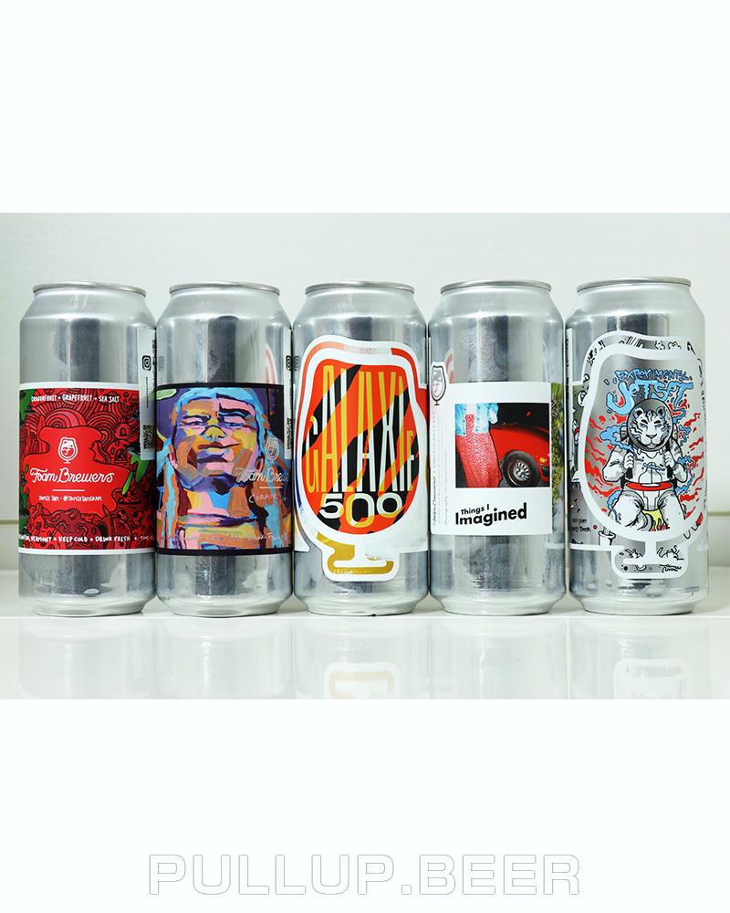 【超超お得!】Foam Brewers5本セット