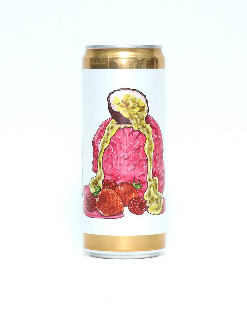 Strawberry Passionfruit Vanilla Sorbet BW|ストロベリーパッションフルーツバニラソルベ